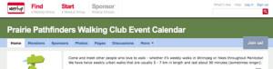 Club Calendar site