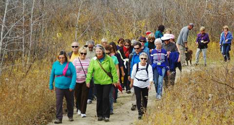 Prairie Pathfinders walking club